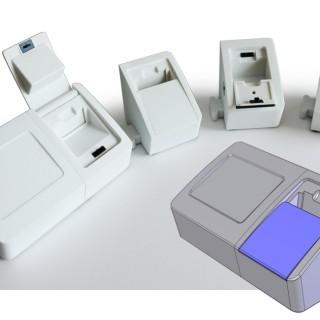 Point-of-care diagnostics reader concept models