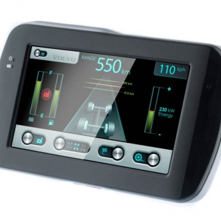 Electric vehicle graphical user interface design