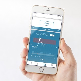 Iphone medical device user interface design