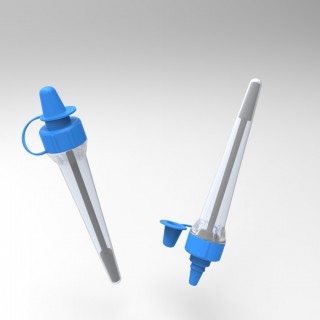 disposable diagnostics product design oral swab