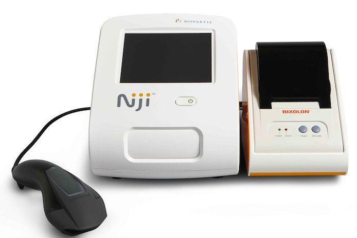 Novartis Niji - building on product design by Maddison Ltd